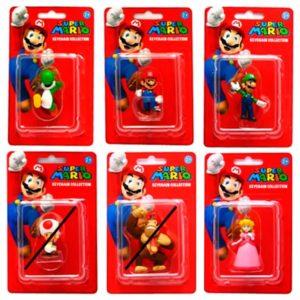 Llavero Super Mario Kart surtido