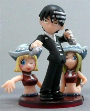 Figura pequeña de Soul Eater: Death the Kid, Elizabeth Thompson y Patricia Thompson