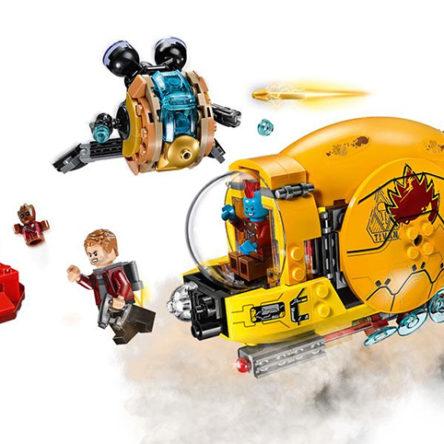 LEGO Marvel Guardianes de la Galaxia 2 – La venganza de Ayesha