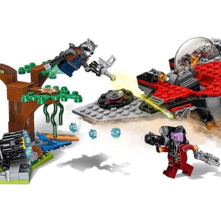 LEGO Guardianes de la Galaxia Vol. 2 Ataque de Ravager