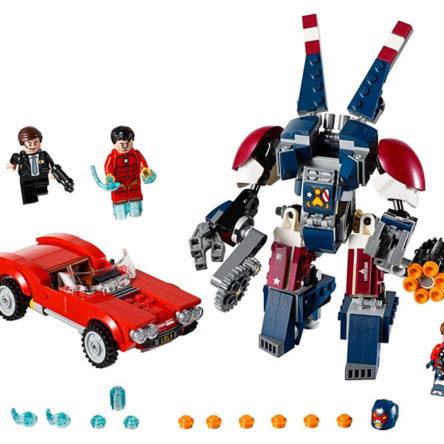 LEGO Vengadores Iron Man – El ataque de Acero de Detroit