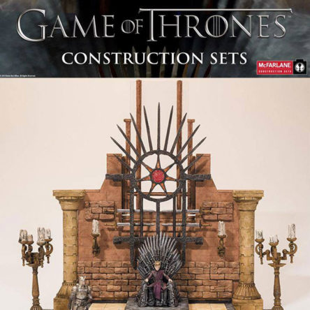 Juego de Tronos: set de construcción de la sala del Trono de Hierro