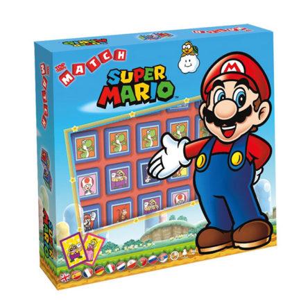 5 en línea de Super Mario