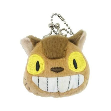 Llavero monedero de peluche Mini Gatobus 8 cm Mi vecino Totoro