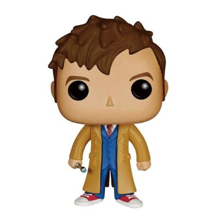 Figura Doctor Who Décimo doctor David Tennant Funko POP! 9 cm