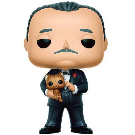 Figura Vito Corleone El Padrino Funko POP! 9 cm