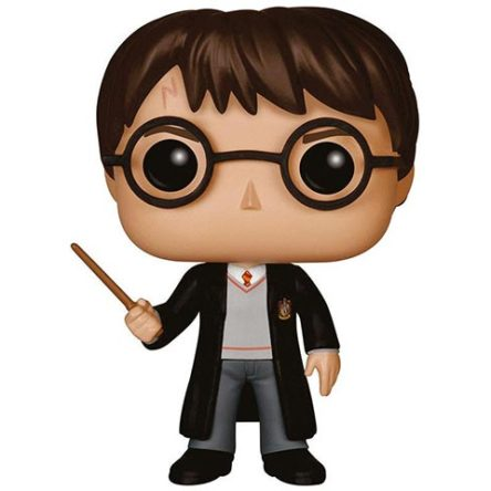 Funko POP! Harry Potter con varita 10cm
