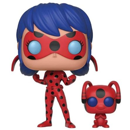 Funko POP! Ladybug y Tikki 9cm