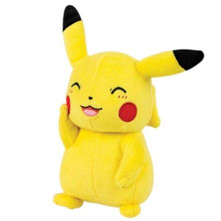 Peluche Pikachu Pokémon sonriente 20cm