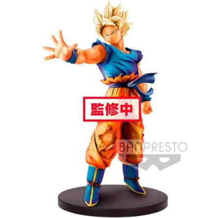Figura Banpresto Super Saiyan Son Goku Dragonball Z Blood of Saiyans 18cm