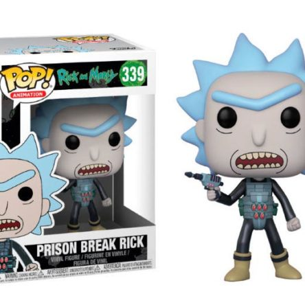 Figura Funko POP! Rick & Morty Prison Escape Rick