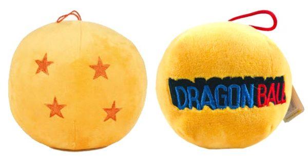 Peluche bola dragón Dragon Ball 4 estrellas 12cm