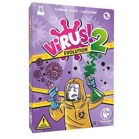 Virus 2: Evolution, el juego de mesa (es expansión)
