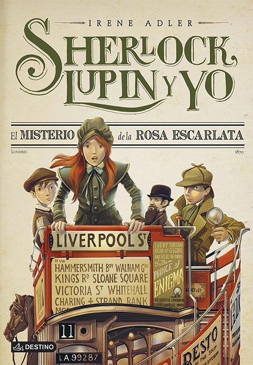 Sherlock, Lupin y yo 3