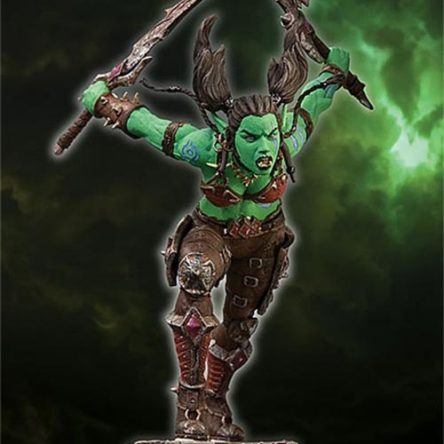 Figura Garona Orc Rogue World of Warcraft Serie 7 18cm