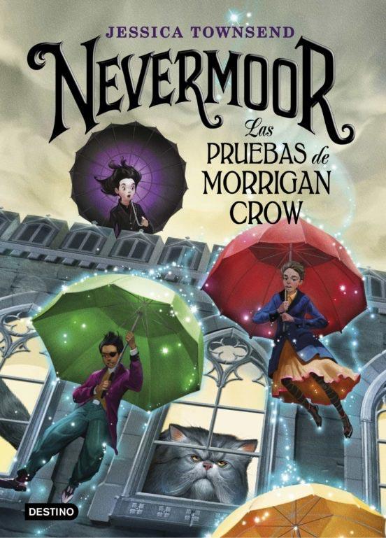 Portada de Nevermoor