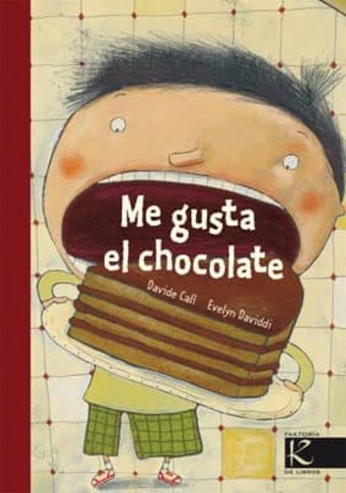 Portada de Me gusta el chocolate