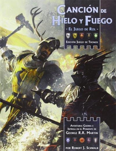 Portada de Canción de Hielo y fuego: El juego de Rol Juego de Tronos