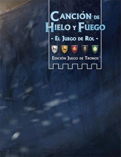 Portada de Canción de Hielo y Fuego: pantalla del narrador del juego de rol - Juego de Tronos