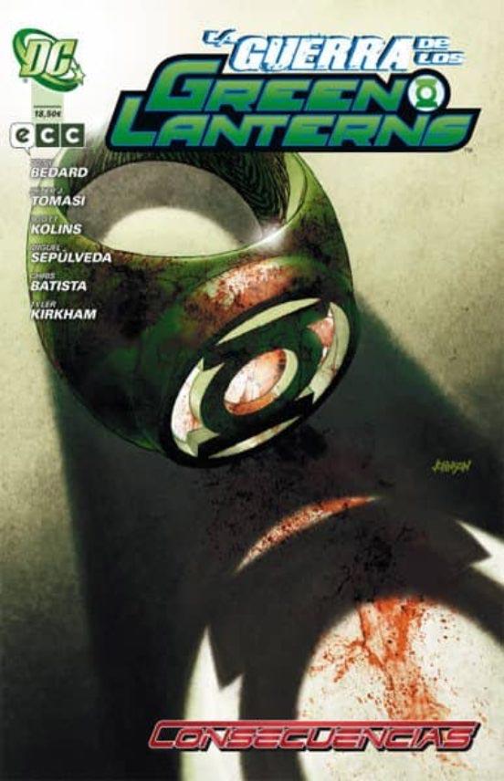 Portada de La guerra de los Green Lanterns: consecuencias