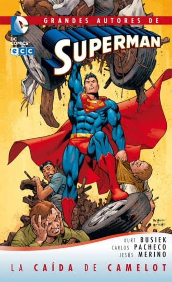 Portada de Superman: la caída de Camelot