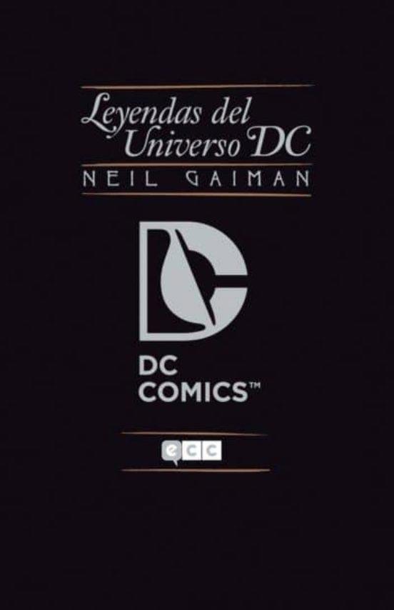Portada de Leyendas del Universo DC (Neil Gaiman)