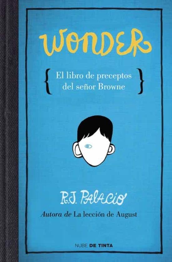 Portada de Wonder: El libro de preceptos del Señor Browne