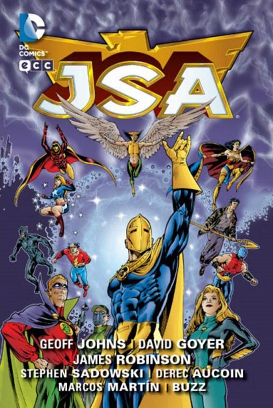Portada de JSA 1 (Justice Society of America)