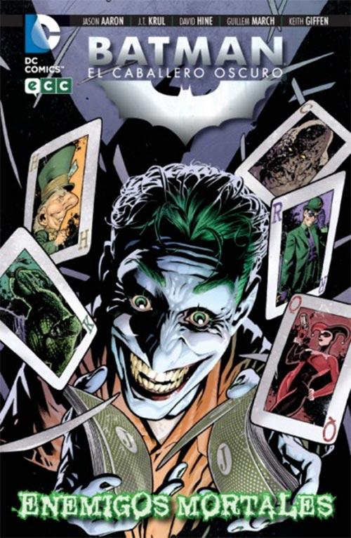 Portada de Batman, el Caballero Oscuro: Enemigos mortales