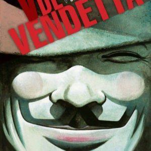 Portada de V de Vendetta (rústica)