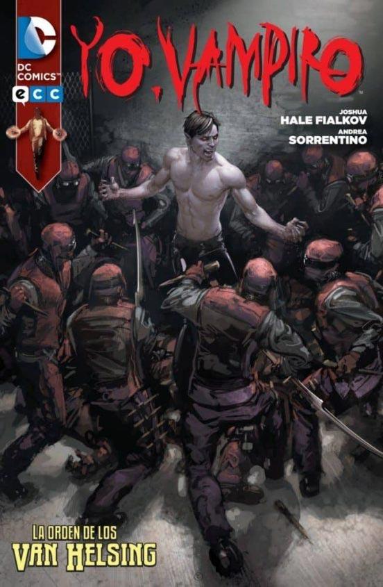 Portada de Yo vampiro: La orden de los Van Helsing