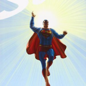 Portada de All Star Superman - Grant Morrison