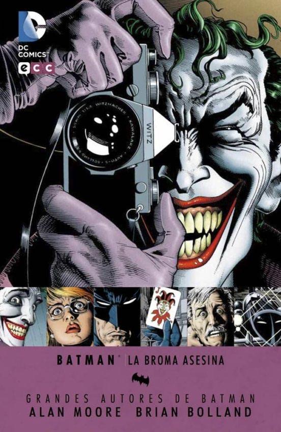 Portada de Batman: la broma asesina