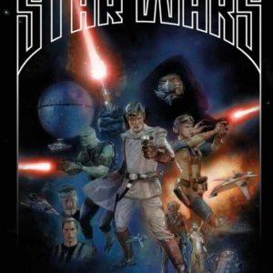 Portada de The StarWars cómic 01 (basado en el borrador de Lucas)