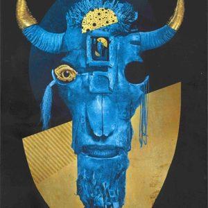 Portada de American Gods ilustrado - Neil Gaiman