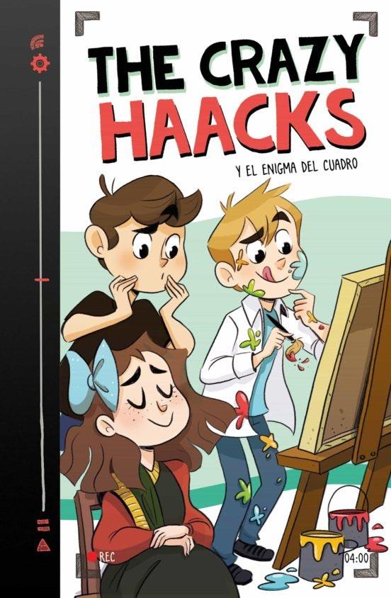 Portada de The Crazy Haaks 4: el enigma del cuadro