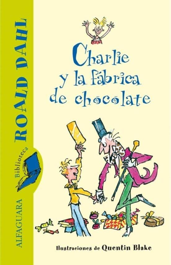 Portada de Charlie y la fábrica de chocolate