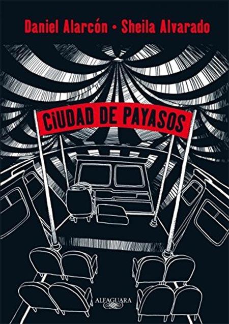 Portada de Ciudad de payasos (novela gráfica)