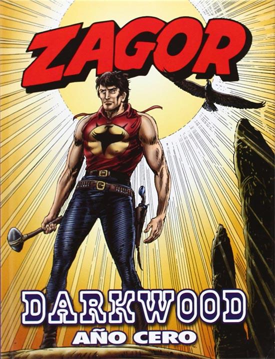 Portada de Zagor, Darkwood Año Cero