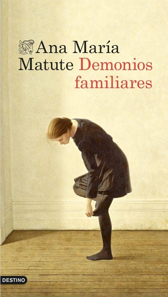 Portada de Demonios familiares - Ana María Matute