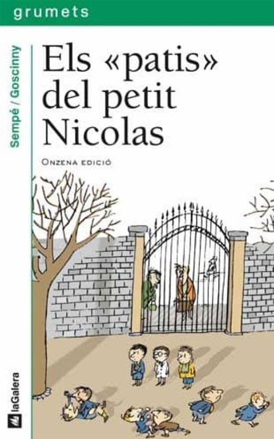 Portada de Els patis del petit Nicolas