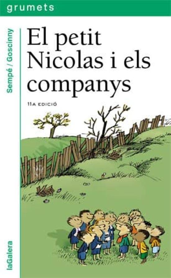 Portada de El petit Nicolas i els companys
