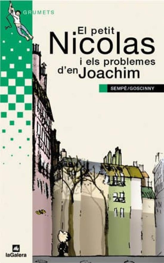 Portada de El petit Nicolas i els problemas d'en Joachim