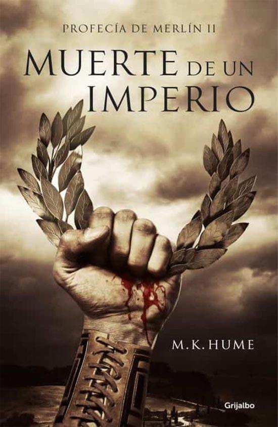 Portada de Muerte de un imperio (Profecía de Merlín 2)