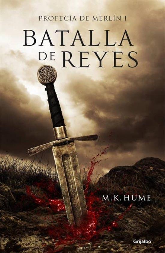 Portada de Batalla de reyes (Profecía de Merlín 1)