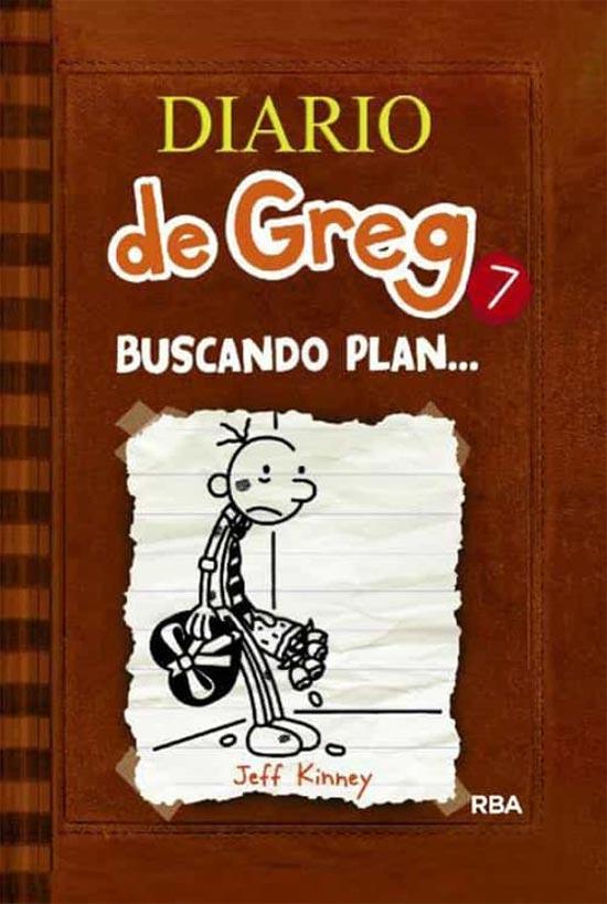 Portada de Diario de Greg 7: buscando plan...