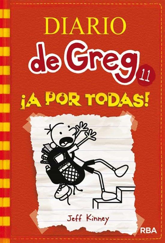 Portada de Diario de Greg 11: ¡A por todas!