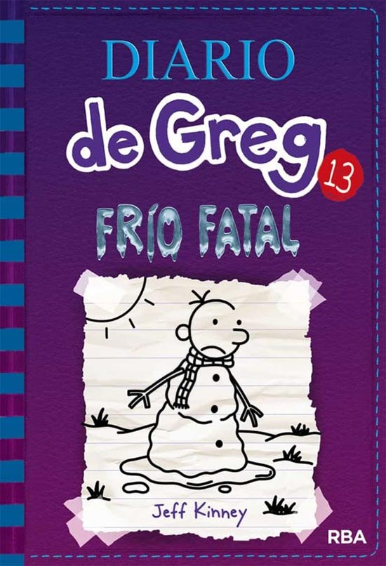 Portada de Diario de Greg 13: Frío fatal