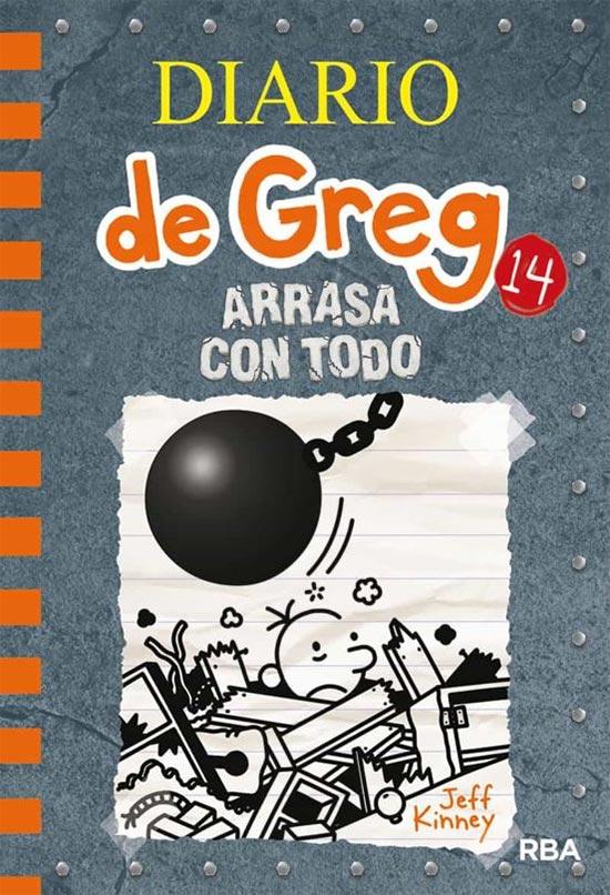 Portada de Diario de Greg 14: Arrasa con todo