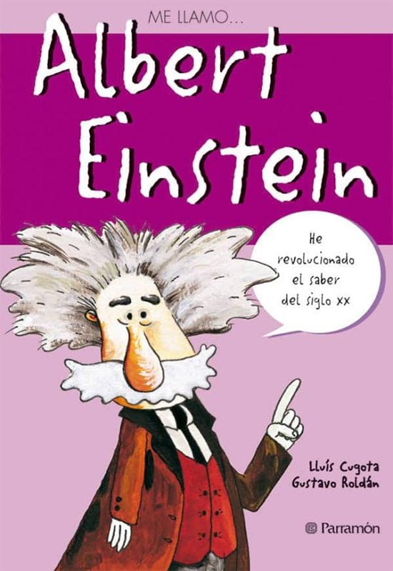 Portada de Me llamo... Albert Einstein